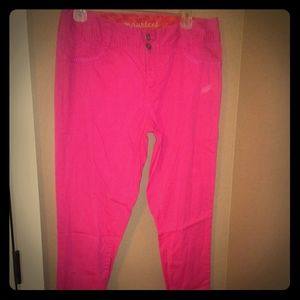 Spandex Pink Pants